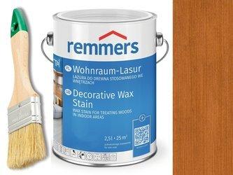 Lazura woskowa Remmers do wnętrz 2,5 L WIŚNIA