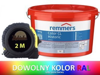 REMMERS Color CL Historic farba wapienna RAL 10KG