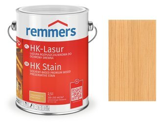 Remmers HK-Lasur impregnat do drewna 0,75 L HEMLOK