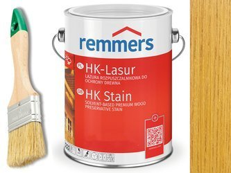 Remmers HK-Lasur impregnat do drewna 2,5L MIODOWY