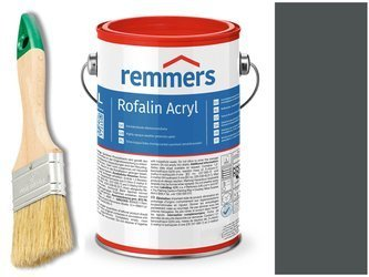 Remmers Rofalin Acryl farba do drewna ANTRACYT 2,5