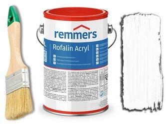 Remmers Rofalin Acryl farba do drewna BIAŁA 10L