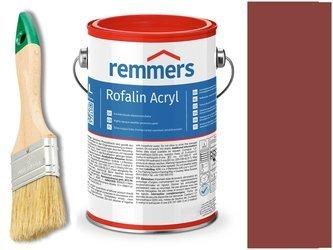 Remmers Rofalin Acryl farba do drewna CZERWONY 2,5