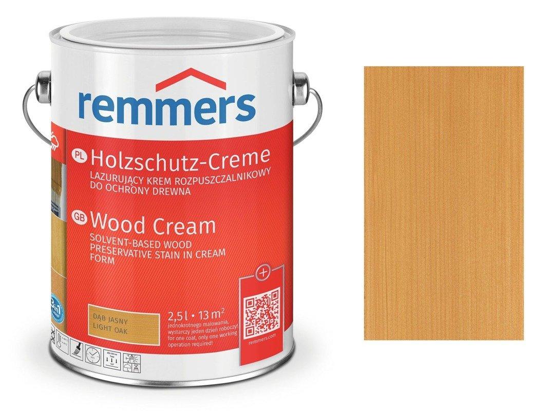 Krem Holzschutz-Creme Remmers dąb jasny 2715 0,75L