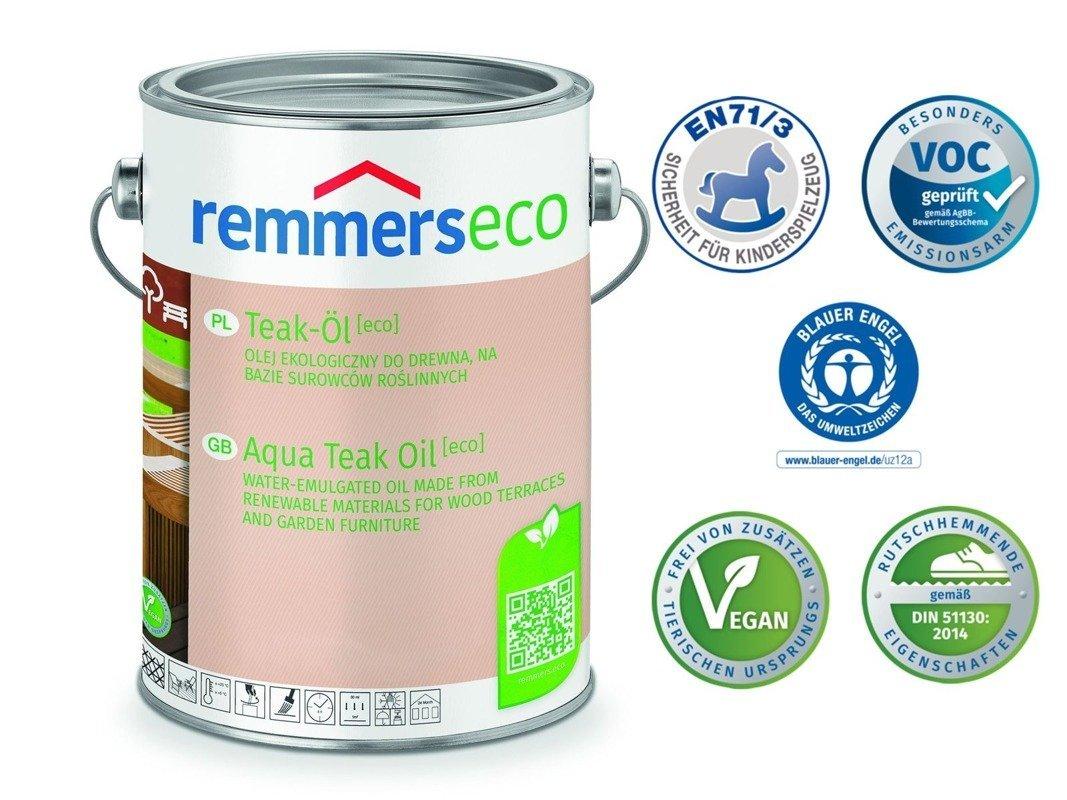 Olej do drewna Remmers 0,75 L EKO Bangkirai