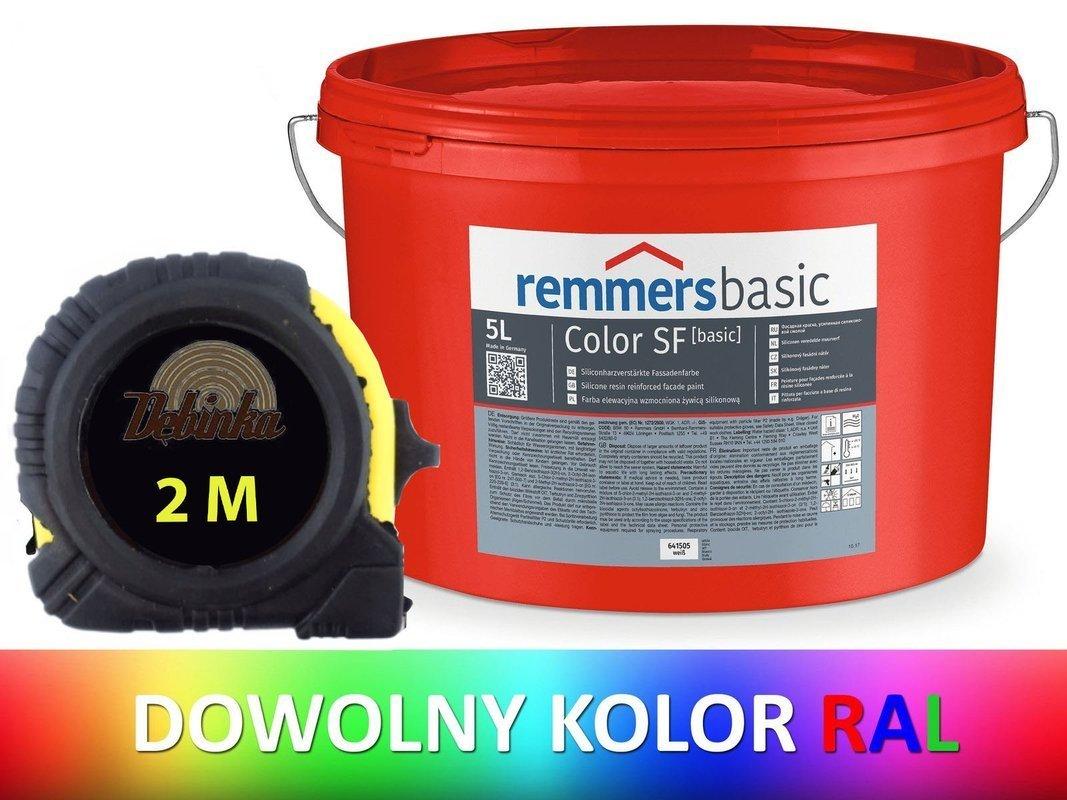 REMMERS farba elewacyjna silikonowa 5L KOLOR RAL