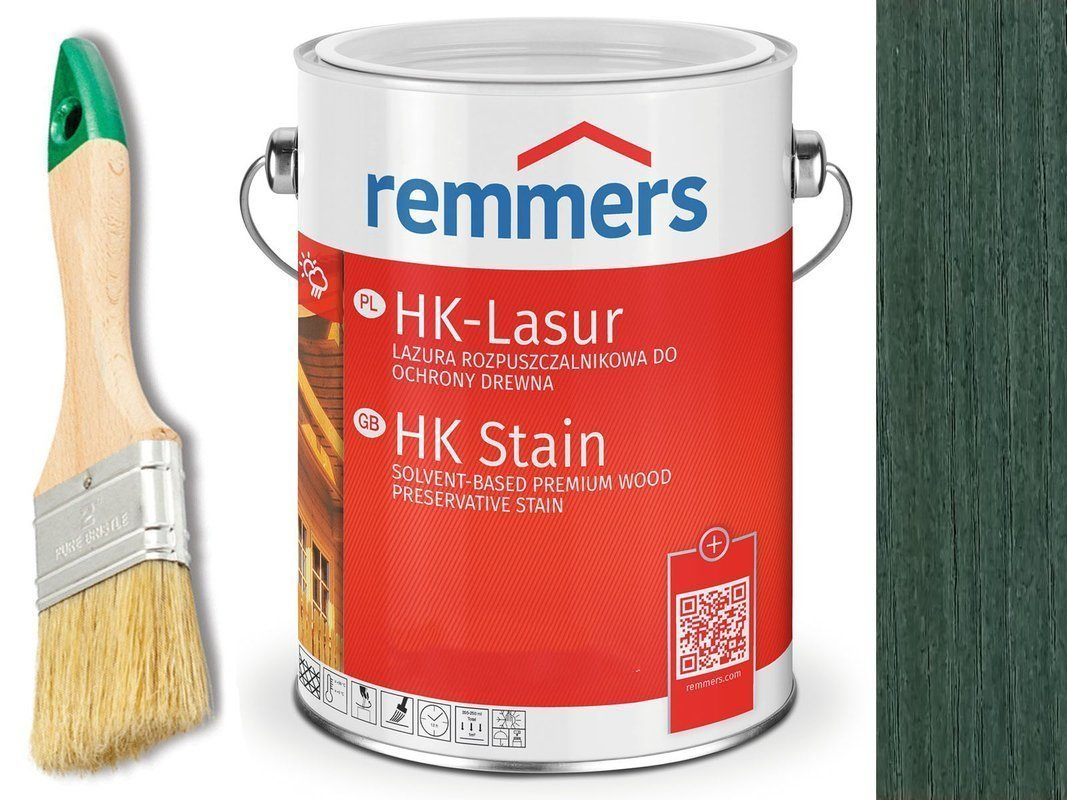 Remmers HK-Lasur impregnat do drewna 10L LEŚNY