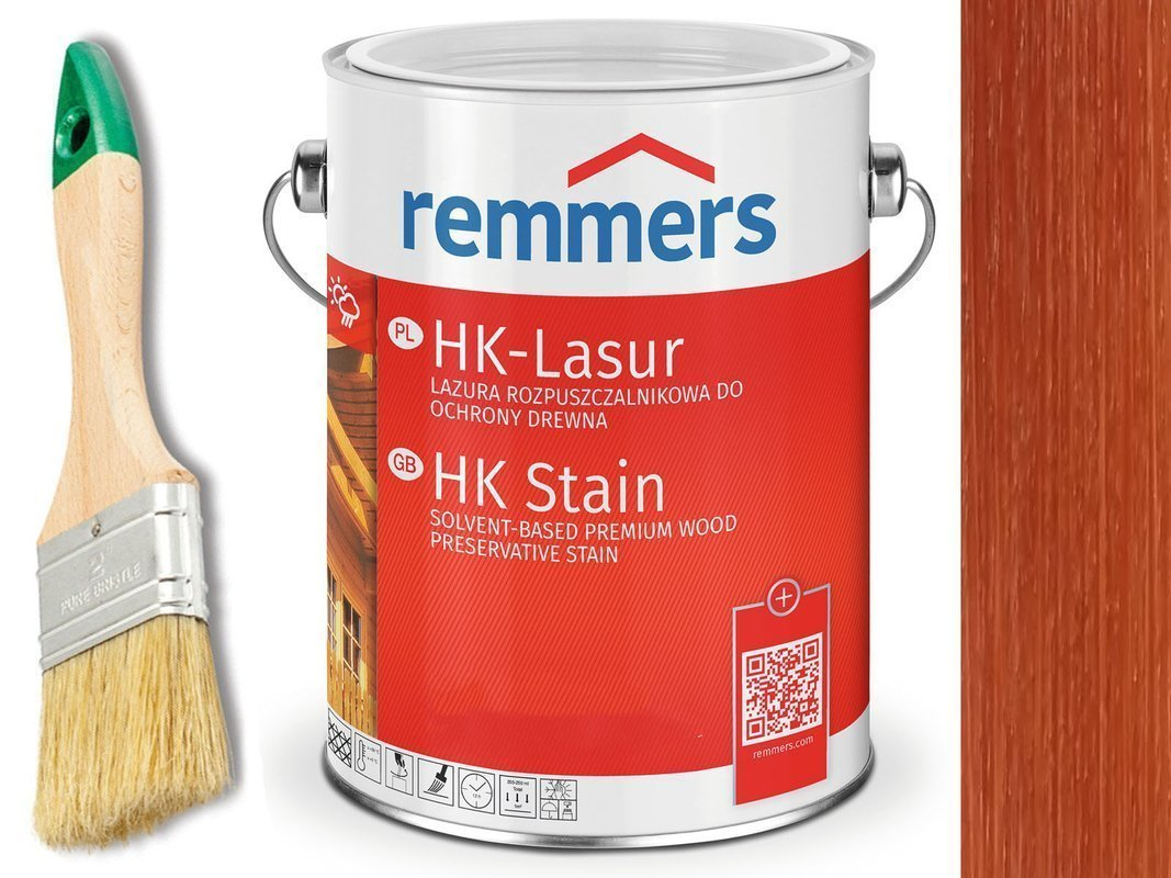 Remmers HK-Lasur impregnat do drewna 10L POMAR.