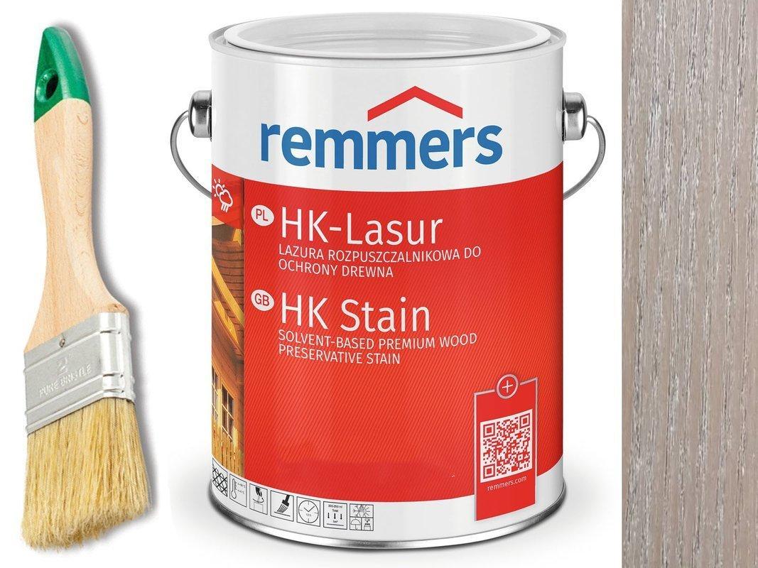 Remmers HK-Lasur impregnat do drewna 2,5L SZARY