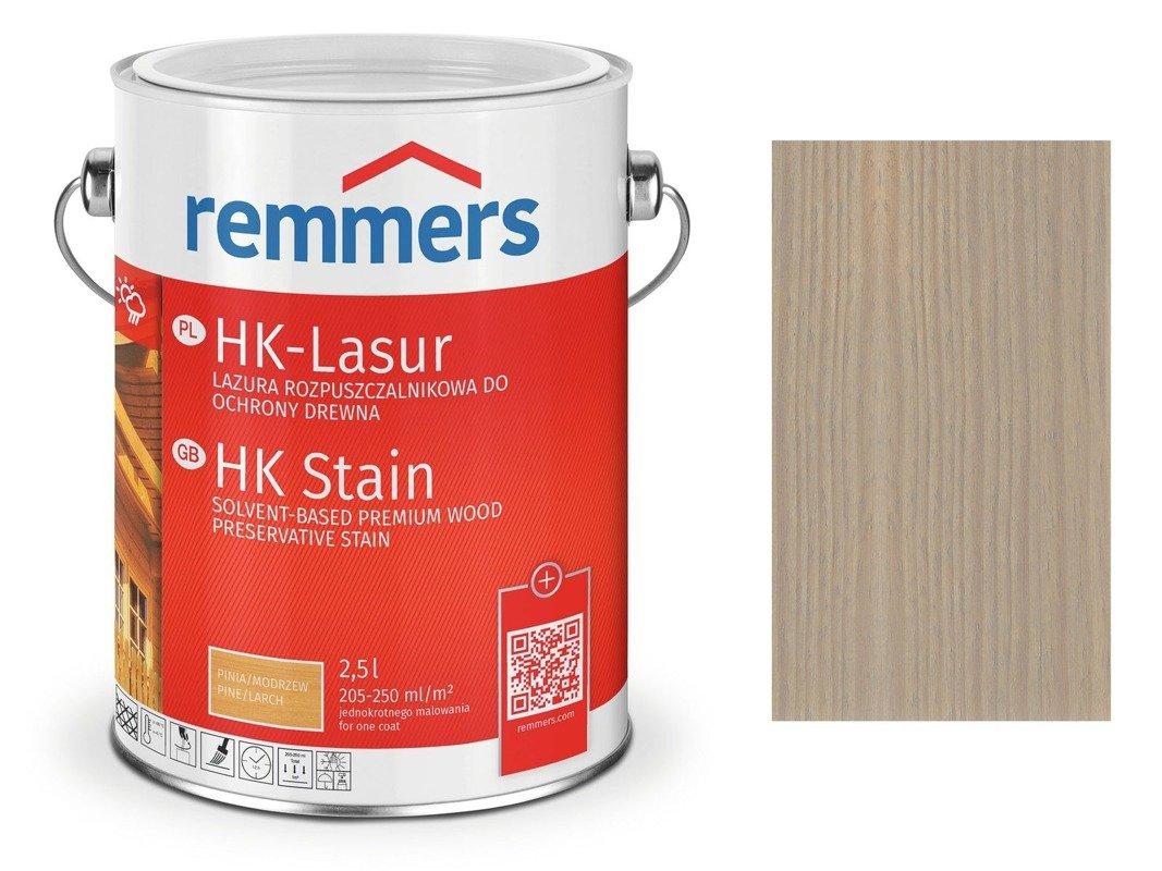 Remmers HK-Lasur impregnat do drewna 5 L SZARY