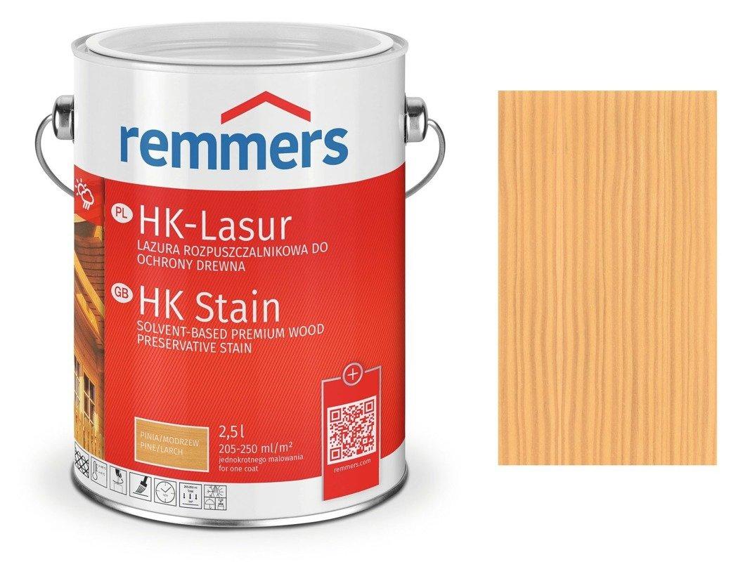 Remmers HK-Lasur impregnat drewna 2,5 BEZBARWNY