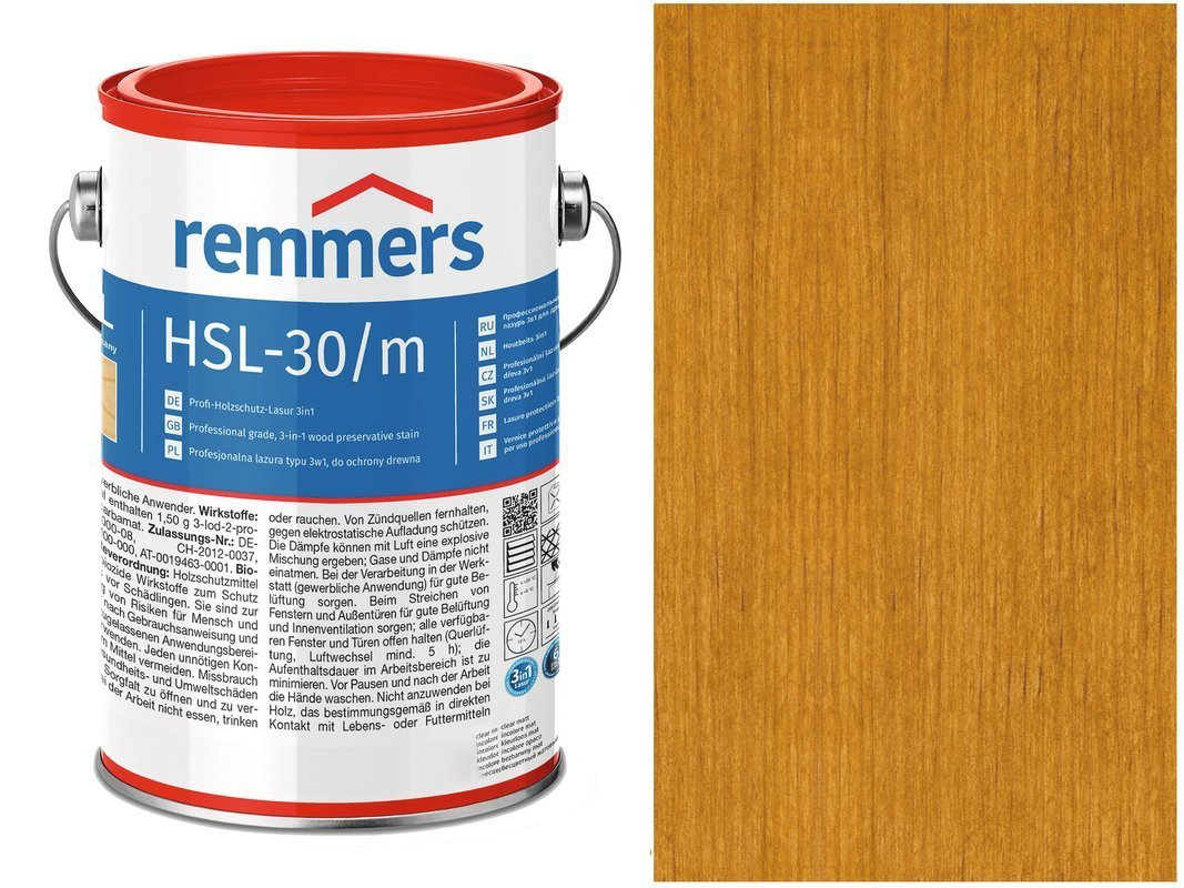 Remmers HSL-30 Profi HK-Lasur Dąb Rustykalny 10L
