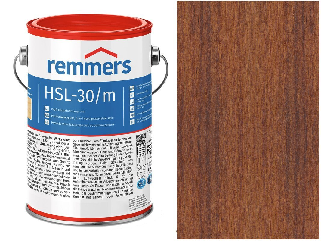Remmers HSL-30 Profi HK-Lasur Kasztan 20L