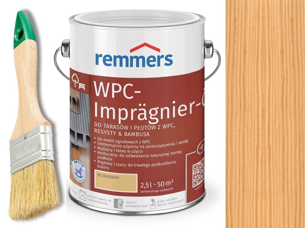 Remmers Olej do tarasów płotów Bezbarwny 2,5 L