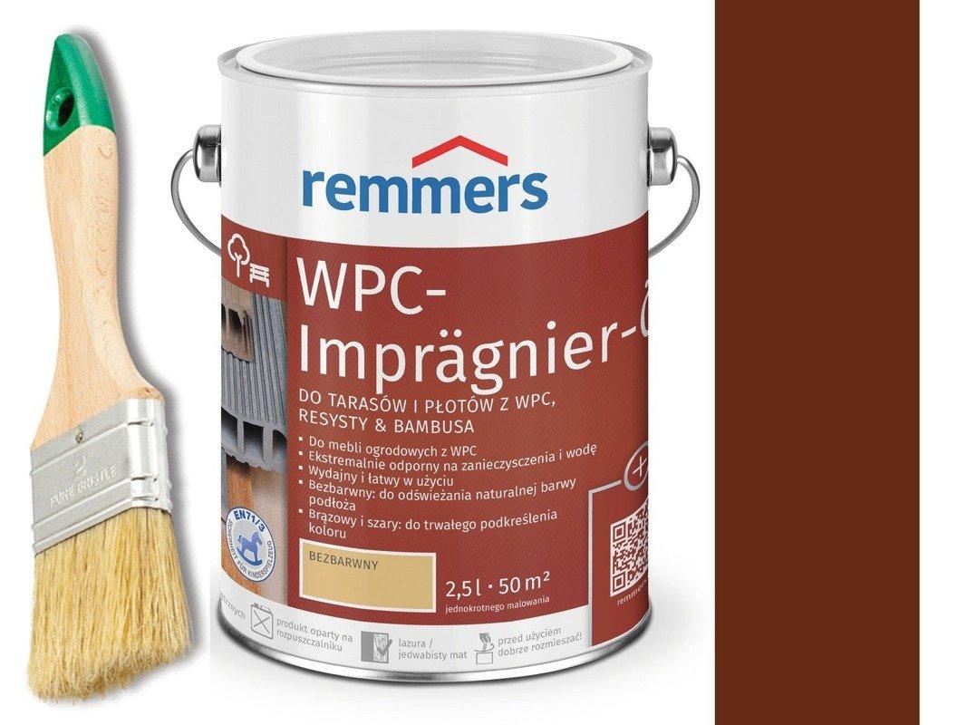 Remmers Olej do tarasów płotów Brązowy 0,75 L