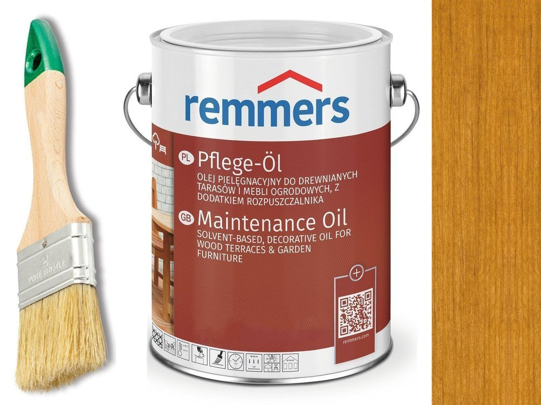 Remmers Pflege-Ol olej do tarasu DĄB RUSTYK 0,75L
