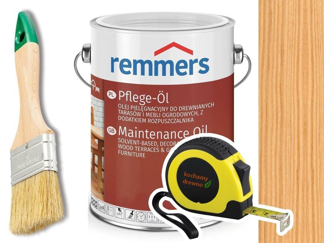 Remmers Pflege-Ol olej do tarasu HEMLOK 2,5L